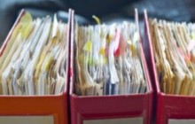 File decades of financial paperwork