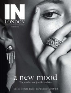 In London Front Cover 229x300 - THE ORGANISERS FEATURE IN 'IN LONDON'